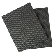 National Hardware S845-009 Stanley Anti Skid Self Adhesive Grip Blankets 4 By 5 Inch Black Rubber 2 Pack