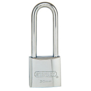 National Hardware S824-718 Stanley 1-3/16 Inch All Weather Marine Long Shackle Padlock Grade 3
