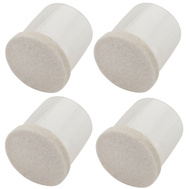 National Hardware S849-266 Stanley Flexi-Felt Leg Tips 1-3/4 Inch Clear Sides Oatmeal Felt 4 Pack