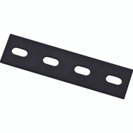 National Hardware N351-455 Mending Plate 6 By 1-1/2 By 1/8 Inch Black Steel