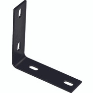 National Hardware N351-464 Corner Brace 5.1 By 1-1/2 By 1/8 Inch Black Finish Steel Bulk