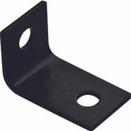 National Hardware N351-476 Offset Leg Corner Brace 2-1/2 By 1.6 By 1-1/2 By 1/8 Inch Black Finish Steel Bulk