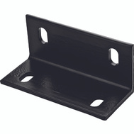 National Hardware N351-493 Wide Corner Brace 3 By 6.6 By 1/4 Inch Black Steel