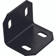 National Hardware N351-494 Square Corner Brace 2.4 By 3 By 1/8 Inch Black Finish Steel Bulk