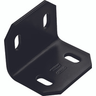 National Hardware N351-495 Square Chamfered Corner Brace 2.4 By 3 By 3/16 Inch Black Finish Steel Bulk