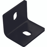 National Hardware N351-496 Square Corner Brace 2.4 By 3 By 1/8 Inch Black Finish Steel Bulk