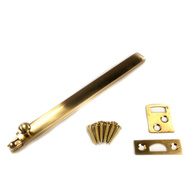 National Hardware N287-023 6 Inch Polished Brass Surface Bolt