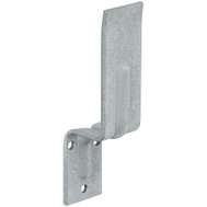National Hardware N235-516 Open Bar Holder For 2 By 4 Lumber 6-1/4 Inch By 1-1/2 Inch Galvanized Steel
