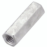 National Hardware N182-684 Threaded Rod Coupler 3/8 Inch 16 Tpi Galvanized Steel