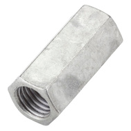 National Hardware N182-726 3/4 Inch 10 TPI Threaded Rod Coupler Galvanized Steel