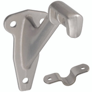 National Hardware N830-132 S570-010 Standard Die Cast Handrail Bracket Satin Nickel