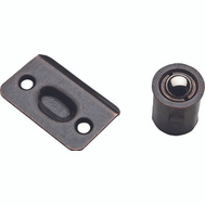 National Hardware N830-108 Drive In Ball Catch With Strike Plate Oil Rubbed Bronze