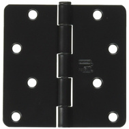 National Hardware N830-201 4 Inch 1/4 Radius Door Hinge Oil Rubbed Bronze