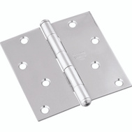 National Hardware N830-276 S690-370 Door Hinge 4 Inch Square Stainless Steel