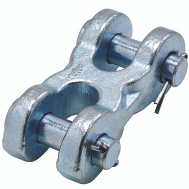 National Hardware N830-311 Double Clevis Link 5/8 Inch Zinc Plated Forged Steel