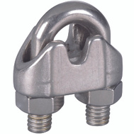 National Hardware N830-313 Wire Cable Clamp 3/16 Inch Stainless Steel Bulk