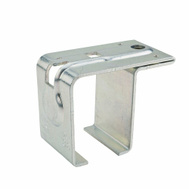 National Hardware N100-004 Steel Top Mount Single Box Rail Bracket Offset With Lag Bolt