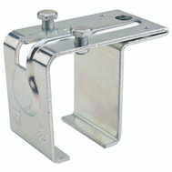 National Hardware N100-005 Single Box Rail Splice Bracket Top Mount With Lag Bolt Galvanized Steel