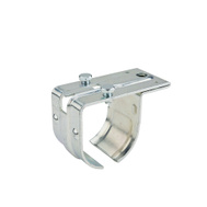 National Hardware N100-009 Single Round Rail Splice Bracket Top Mount