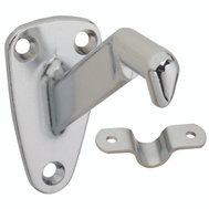 National Hardware N830-119 Heavy Duty Handrail Bracket Satin Chrome