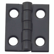 National Hardware N211-018 Narrow Craft And Hobby Hinges 3/4 By 5/8 Oil Rubbed Bronze On Steel 4 Pack