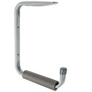 National Hardware N112-006 Shelf Bracket & Storage Hanger Gray Finish