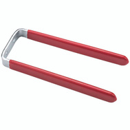 National Hardware N112-016 Tool Hook 6 Inch Red Vinyl Coated Steel