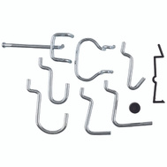 National Hardware N112-060 Locking Pegboard Hook 32 Piece Assortment