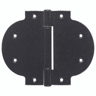 National Hardware N109-026 Arched Heavy T Hinge Black Steel