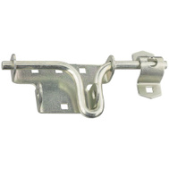 National Hardware N109-028 N165-555 N212-480 S827-774 Sliding Bolt Door And Gate Bolt Latch Zinc Plated Steel