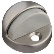 National Hardware N236-004 High Rise Dome Floor Mount Door Stop Satin Chrome