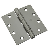 National Hardware N236-011 4-1/2 Inch Ball Bearing Door Hinge Non Removable Pin Prime Coat
