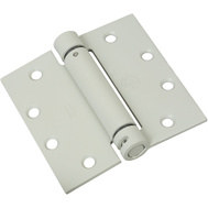 National Hardware N236-013 Commercial Spring Door Hinge 4-1/2 Inch Square Corner Prime Coat