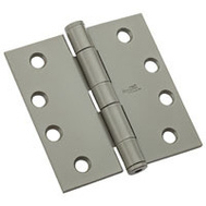 National Hardware N236-016 Commercial Door Hinge 4 Inch Square Corner Prime Coat