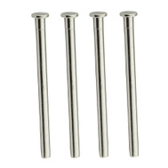 National Hardware N830-501 Replacement Hinge Pins 3-1/2 Inch Satin Nickel 4 Pack