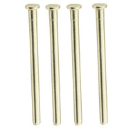 National Hardware N830-503 Replacement Hinge Pins 3-1/2 Inch Satin Brass 4 Pack