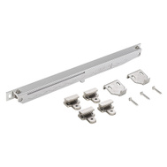 National Hardware N187-082 Sliding Door Hardware Soft Close Kit Satin Nickel