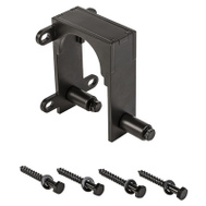 National Hardware N187-100 Sliding Door Hardware Bypass Bracket Oil Rubbed Bronze