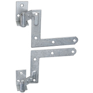 National Hardware N269-862 S392-403 Blind Shutter Hinge Galvanized Steel 11/16 Inch Offset
