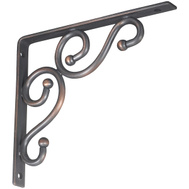 National Hardware N236-214 = S250-592 Traditional Shelf Bracket 7 By 8 Inch Antique Bronze