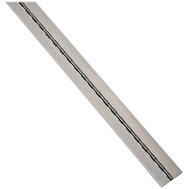 National Hardware N149-010 Weldable Continuous Hinge 2 Inch By 72 Inch Plain Steel No Holes