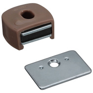 National Hardware N710-506 S711-030 Magnetic Cabinet Catch Tan Plastic