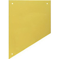 National Hardware N270-308 Kick Plate 8 By 34 Inch Bright Brass Anodized Aluminum