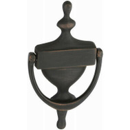 National Hardware N336-218 Door Knocker 7 Inch Oil Rubbed Bronze Finish