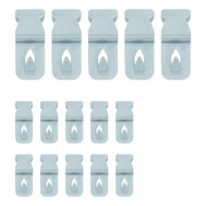 National Hardware N260-149 Push & Hang Zinc Plated Steel 15 Pieces