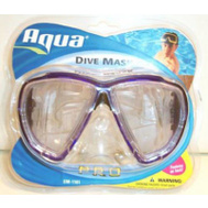 Aqua Leisure AQM10392 Coco Glass Dive Mask