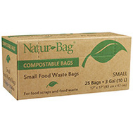 Natur-Tec NT1075-RTL-00004 Bag Compostable 3 Gallon