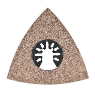 RichPower GAMT741 Genesis 3-1/8 Inch Triangular Carbide Rasp Universal Fit For Oscillating Tools