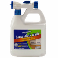 Concrobium 126056 Non Toxic House And Deck Wash Hose End Sprayer 68 Ounce