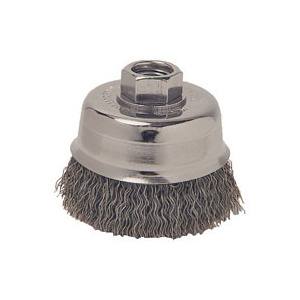 Weiler 36061 5In Crimp Cup Brush Crs 5/8-11